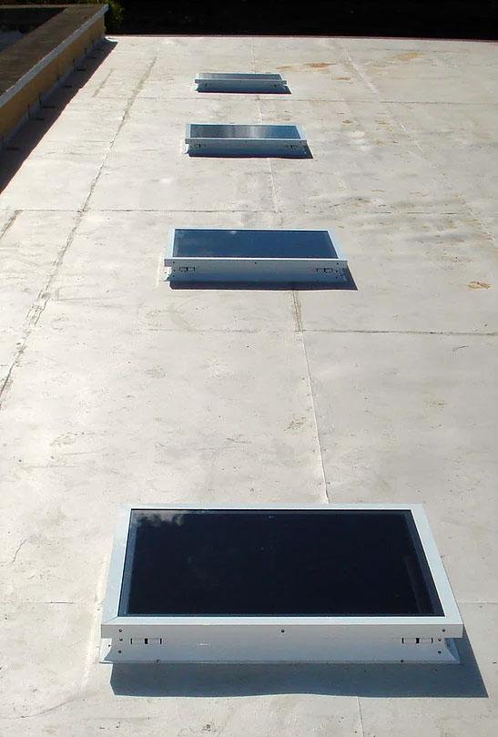 Lanzarote skylight Claraboya España roof window installation Playa Blanca