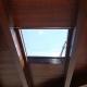Lanzarote skylight Claraboya España Modelo 03 interior view opening wood