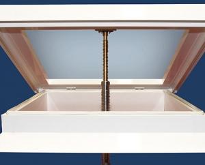 Lanzarote skylight Claraboya España self install open operation diagram