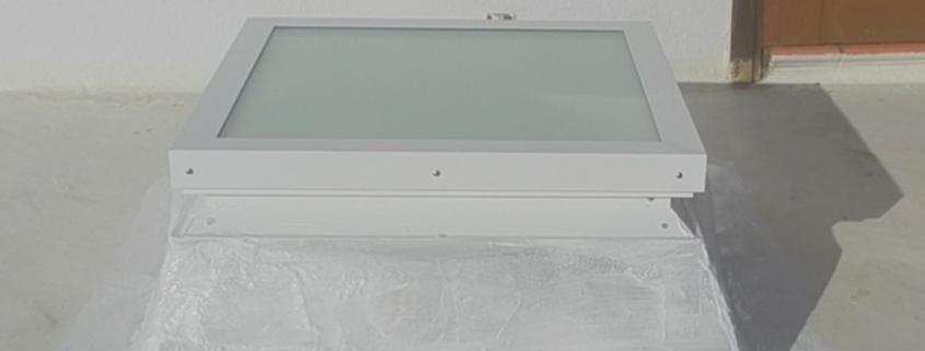 Lanzarote skylight Claraboya España roof window install